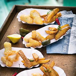 Rezept aus Abenteuer Fisch: Fisch und Chips