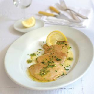 Rezept von Claudio Del Principe: Kalbsschnitzel mit Zitronensauce