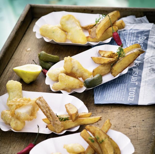 Rezept aus Abenteuer Fisch: Fisch & Chips