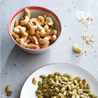 Rezept von Rebecca Katz & Mat Edelson: Kokos-Curry-Cashews