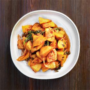 Rezept von Byung-Hi & Byung-Soon Lim: Kimchi aus Kürbisfleisch