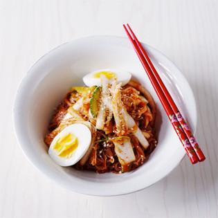 Rezept von Byung-Hi & Byung-Soon Lim: Scharfe kalte Nudeln