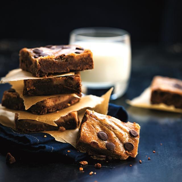 Rezept von Emelie Holm: Brownie-Erdnussbutter-Cheesecake