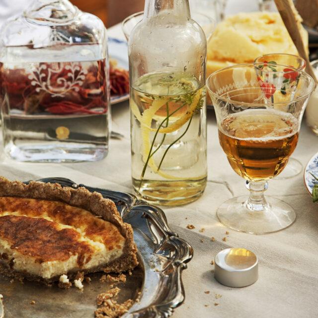 Rezept aus The Bread Exchange: Västerbotten Quiche
