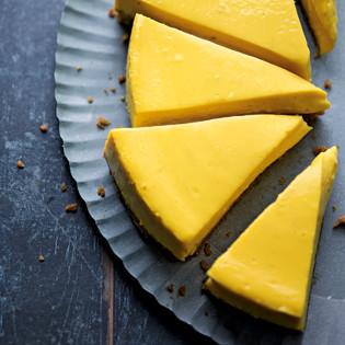Rezept von Cynthia Barcomi: Mango Cheesecake