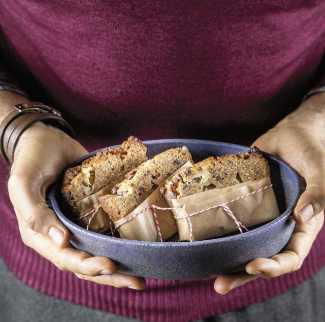 Rezept von Julia Kutas: Erdnussbutter-Bananen-Kuchen
