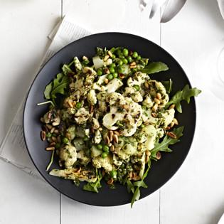 Rezept von Terry Hope Romero: Pesto-Blumenkohl-Kartoffelsalat