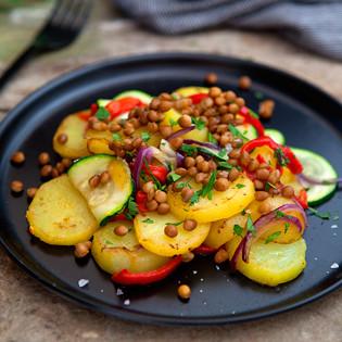 Rezept von Gonzalo Baró: Kartoffeln mit Linsen