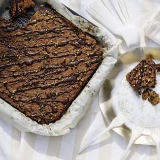 Rezept von Ilse König: Karotten-Blechkuchen