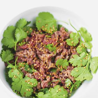 Rezept von Jean-François Mallet: Thai-Salat mit Rindfleisch
