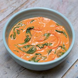 Rezept von Eve O'Sullivan & Rosie Reynolds: Westafrikanische Erdnuss-Suppe