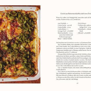 Rezept von Nigel Slater: Gratin aus Butternusskürbis und roten Zwiebeln