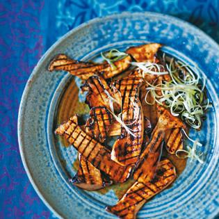 Rezept von Lizzie Mabbott: Kräuterseitlinge in Teriyakisauce