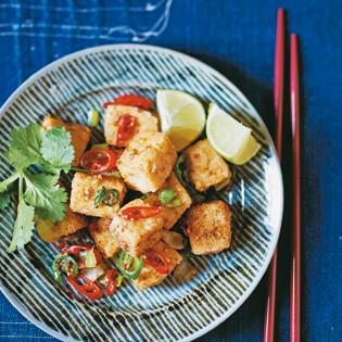 Rezept von Lizzie Mabbott: Tofu mit Salz und Pfeffer