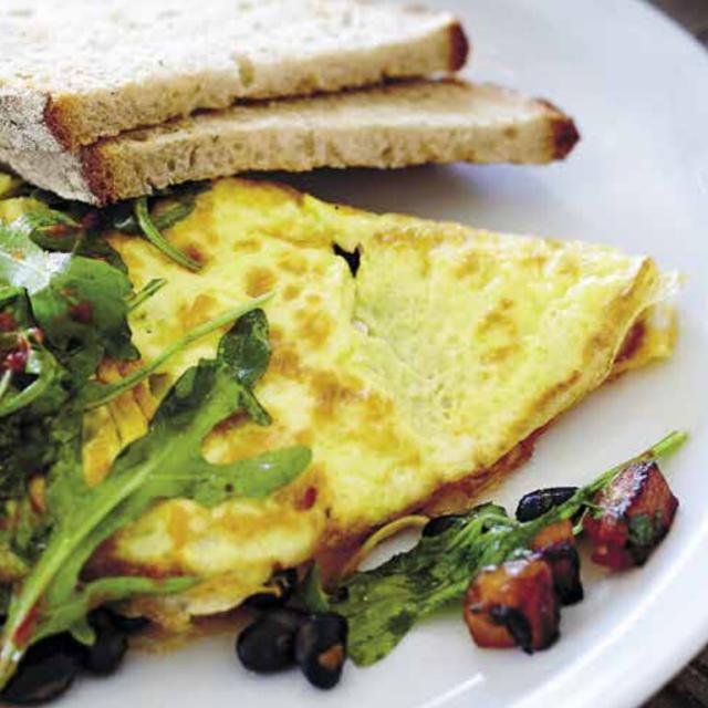 Rezept von Marita Karlson: Butternut-Omelett