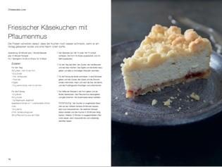 Rezept von Margit Proebst: Friesischer Käsekuchen mit Pflaumenmus