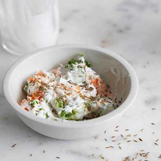 Rezept von Amandip Uppal: Gurken-Karotten-Chutney mit Minze