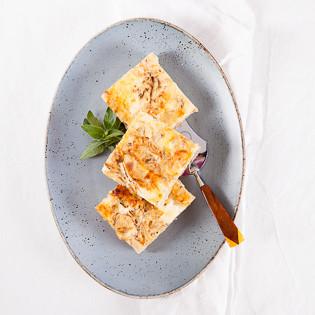 Rezept von Margit Proebst: Zwiebel-Apfel-Kuchen mit Quarkguss