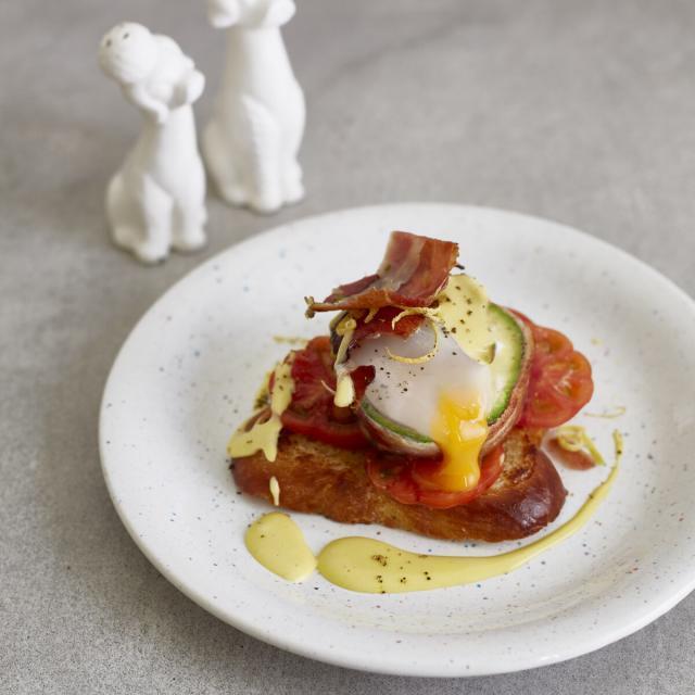 Rezept von Rose Marie Donhauser: Avocado-Egg-Benedict Deluxe