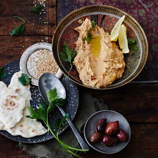 Rezept von Martin Kintrup: Süßkartoffel-Baba-Ghanoush