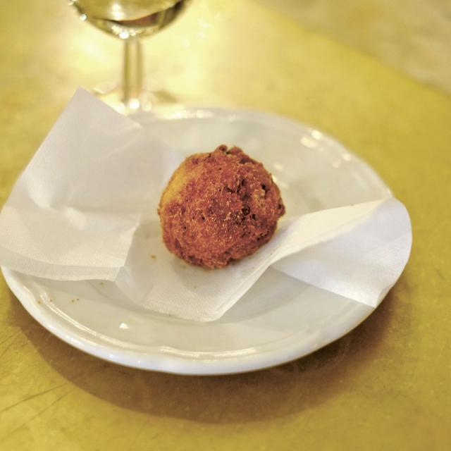 Rezept von Claudio Del Principe: Polpette croccanti – Frittierte Fleischbällchen