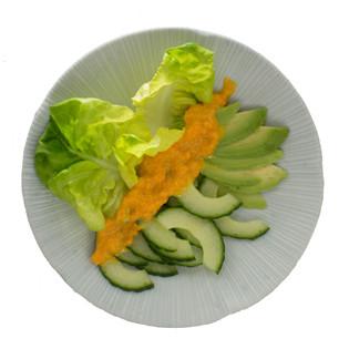 Rezept von Nell Benton: Gurken-Avocado-Salat