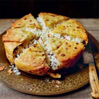 Rezept von Caroline Eden & Eleanor Ford: Butterreis unter der Schah-Krone