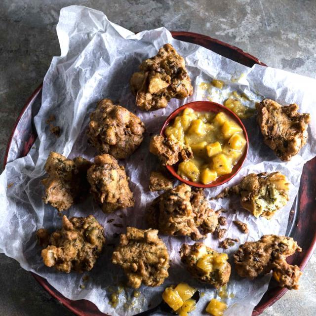 Rezept aus Street Food Homemade: Pakoras mit Mango Chutney