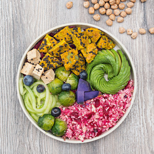 Rezept von Annelina Waller: Glow Bowl mit Avocado