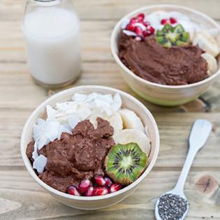 Rezept von Annelina Waller: Schoko-Pudding mit Süßkartoffel