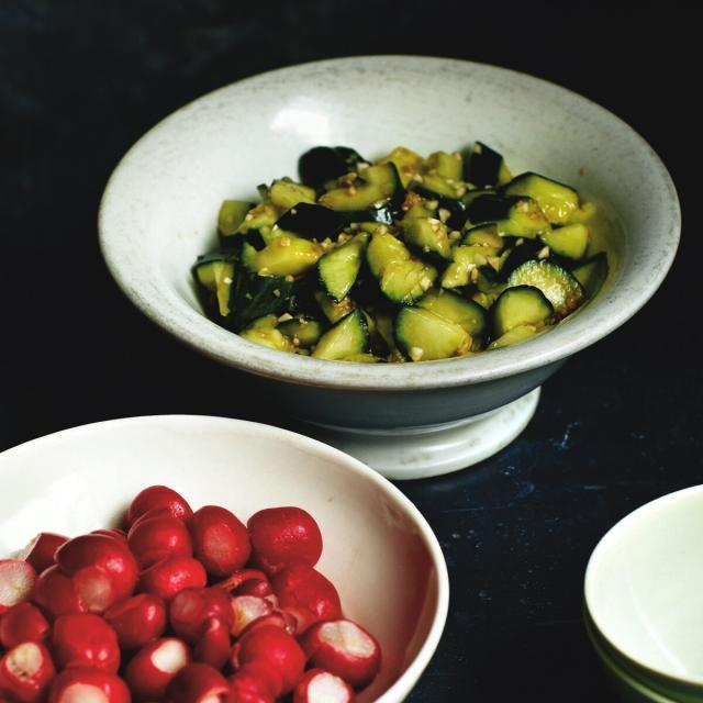 Rezept von Fuchsia Dunlop: Schneller chinesischer Gurkensalat