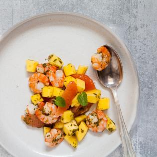 Rezept von Jenny Linford: Garnelen-Pomelo-Thaisalat