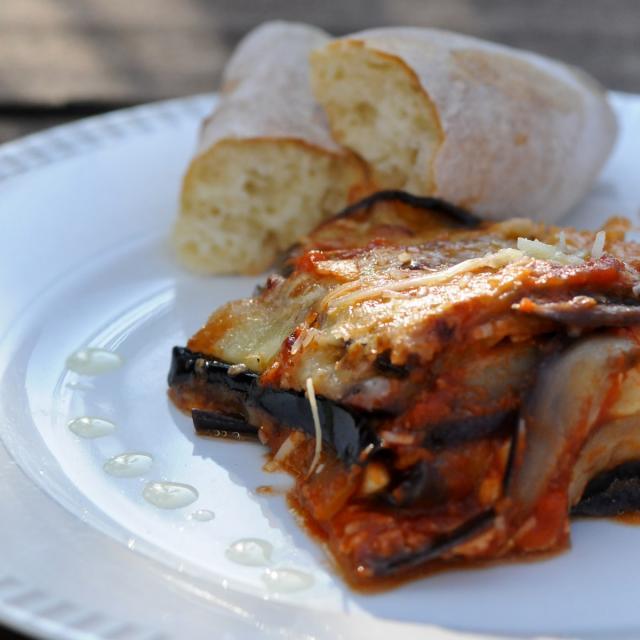 Rezept von Elissavet Patrikiou: Melanzane alla parmigiana
