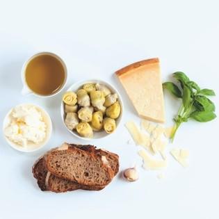 Rezept von Sabrina Fauda-Rôle: Artischocke, Parmesan & Basilikum