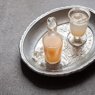 Rezept von Nicole Klauß: Birne-Ingwer-Shrub