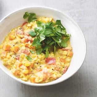 Rezept von Tanja Dusy: Gelbes Kokos-Linsen-Curry