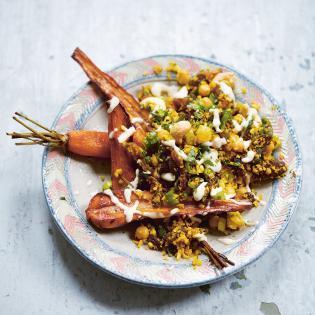 Rezept von Ella Mills: Warmer marokkanischer Blumenkohlsalat