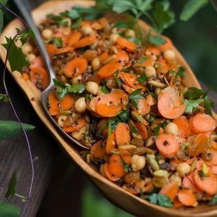 Rezept von Erin Gleeson: Marokkanischer Karottensalat