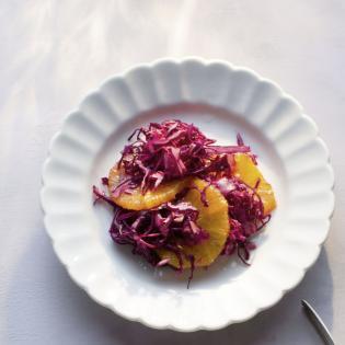 Rezept von Richard Rauch: Rotkohlsalat mit Orangen