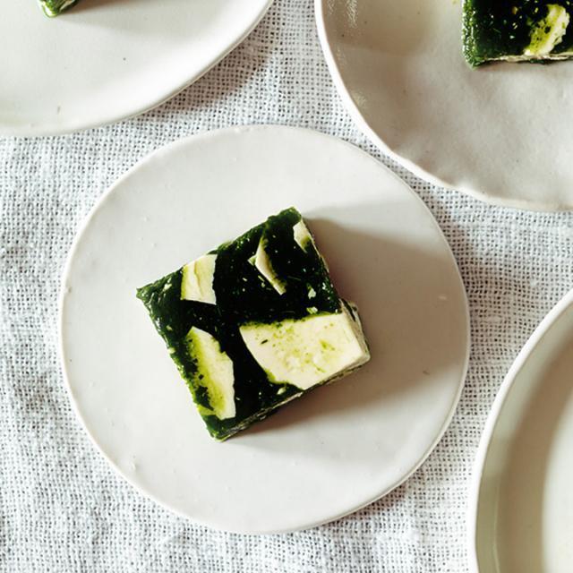 Rezept von Kimiko Barber: Spinat-Tofu-Sülze