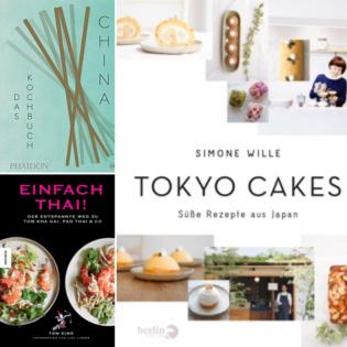Neue Asien-Kochbücher: Valentinas Lieblinge November 2017