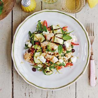 Rezept von Eleonora Galasso: Dinkelreissalat mit Hähnchenstreifen