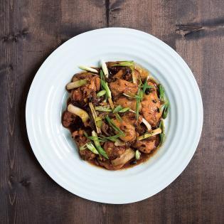 Rezept von Kei Lum & Diora Fong Chan: Hähnchen in Schwarze-Bohnen-Sauce