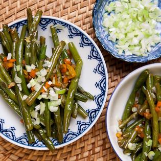 Rezept nach Ho Fu-Lung: Frittierte Bohnen