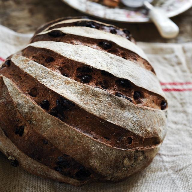 Rezept von Sarah Owens: Grießbrot mit getrockneten Cranberrys & Mohn