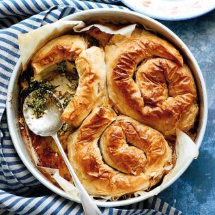 Rezept von Joudie Kalla: Spinat-Feta-Schnecken