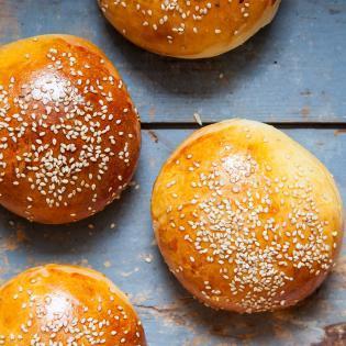 Rezept von Kristin Frederick: Hamburgerbrötchen