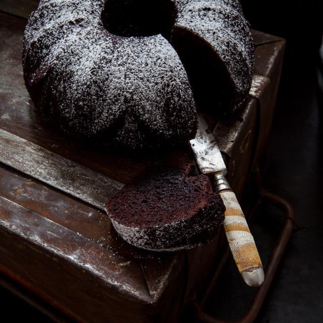 Rezept von Melissa Forti: Whisky-Schokoladen-Gugelhupf