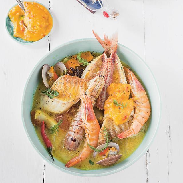 Rezept von Annette Sandner: Bouillabaisse mit Rouille
