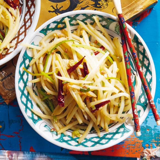 Rezept aus Forever Yang: Chinesische Streifenkartoffeln – Tu Dou Si